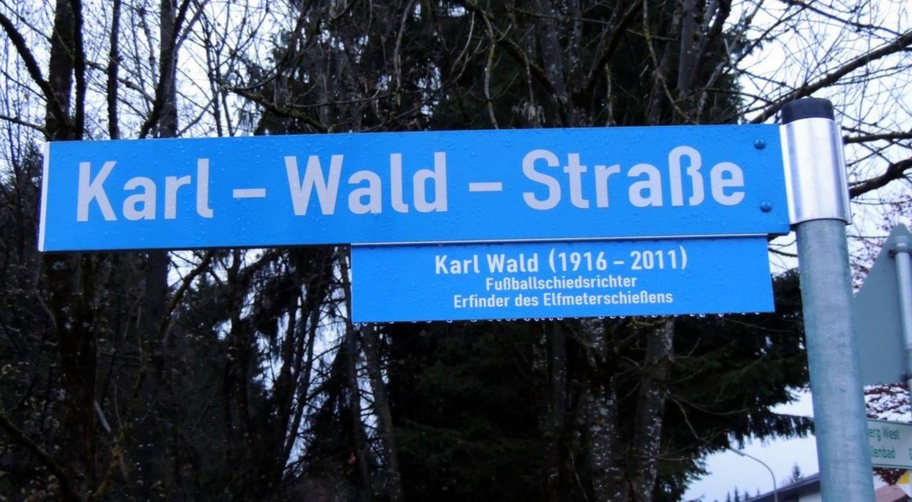 Karl-Wald-Straße in Penzberg