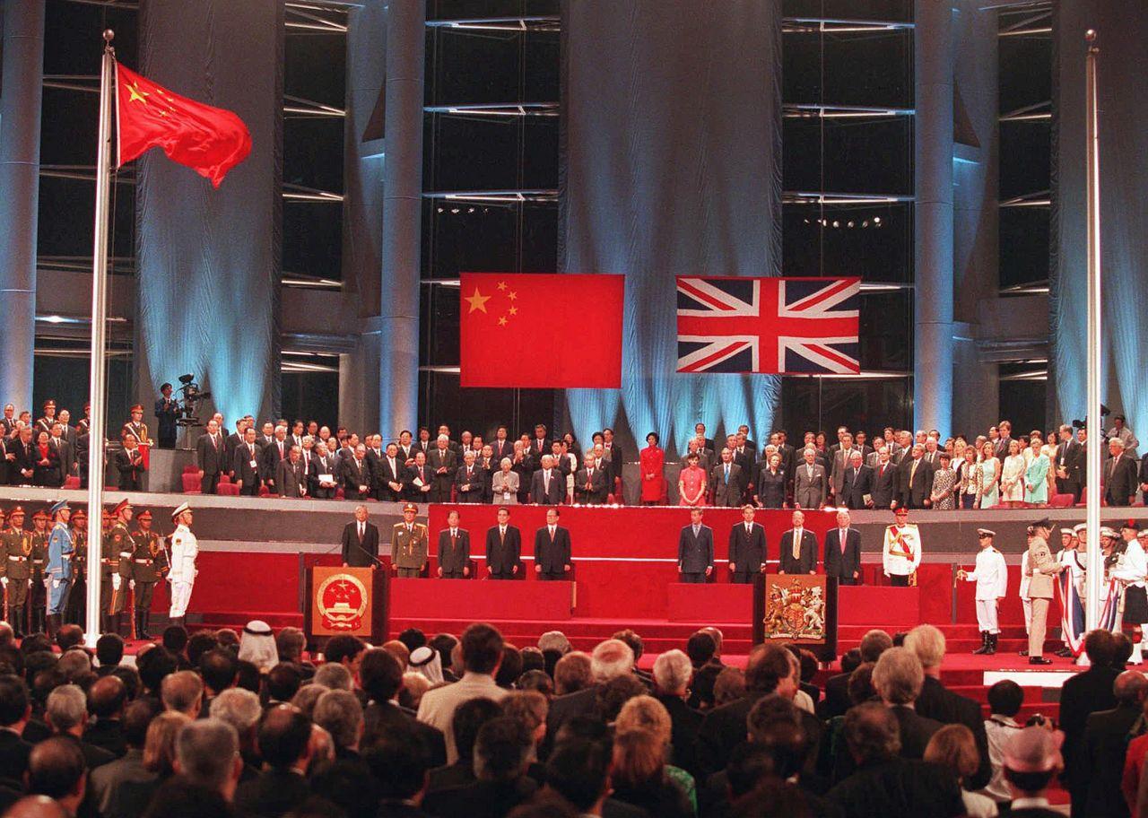 Hongkong-Rückgabe an China