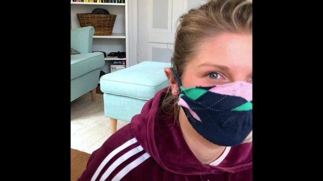 DIY-Masken: 3 Varianten ohne Nähen - 10s