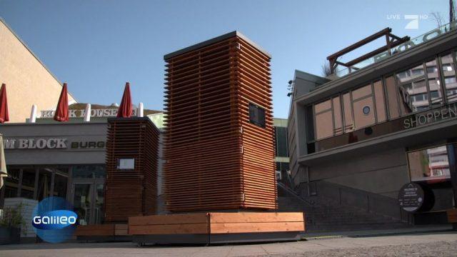 G-nial: Der City Tree für zusätzliche Frischluft in der Stadt