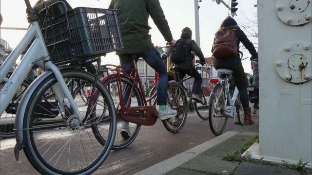 Groningen - die Hauptstadt des Fahrradfahrens