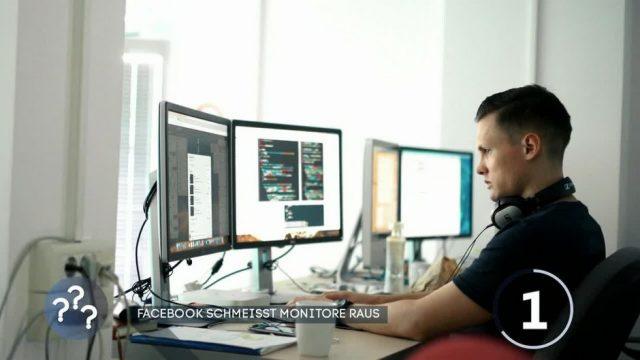 Ohne Monitore und Kabel: Facebook testet neues Arbeitsplatzkonzept