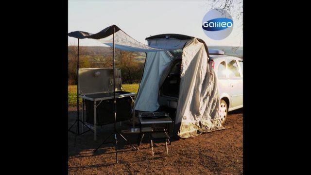 So machst du dein Auto zum Camper: 5 Gadgets