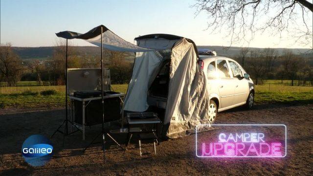 Vom Auto zum Camper: Gelingt das Upgrade mit den neuen Gadgets?