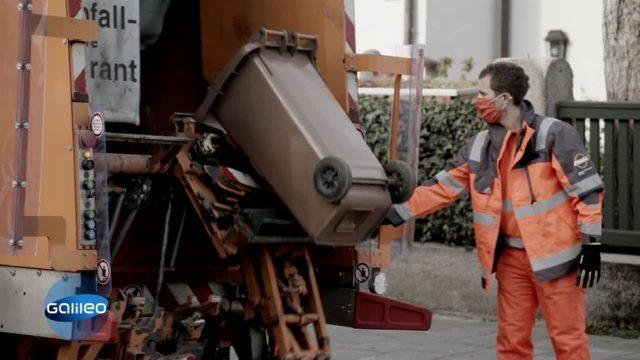 Wie hart ist die Arbeit der Müllabfuhr in Zeiten von Corona?