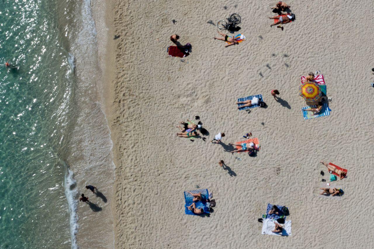 Urlaub am Strand in Griechenland trotz Corona