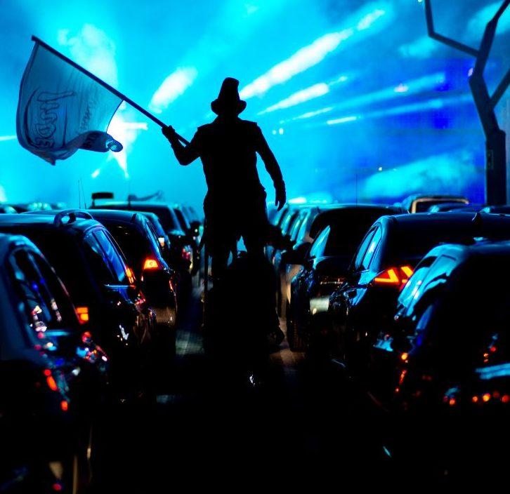Festival im Auto