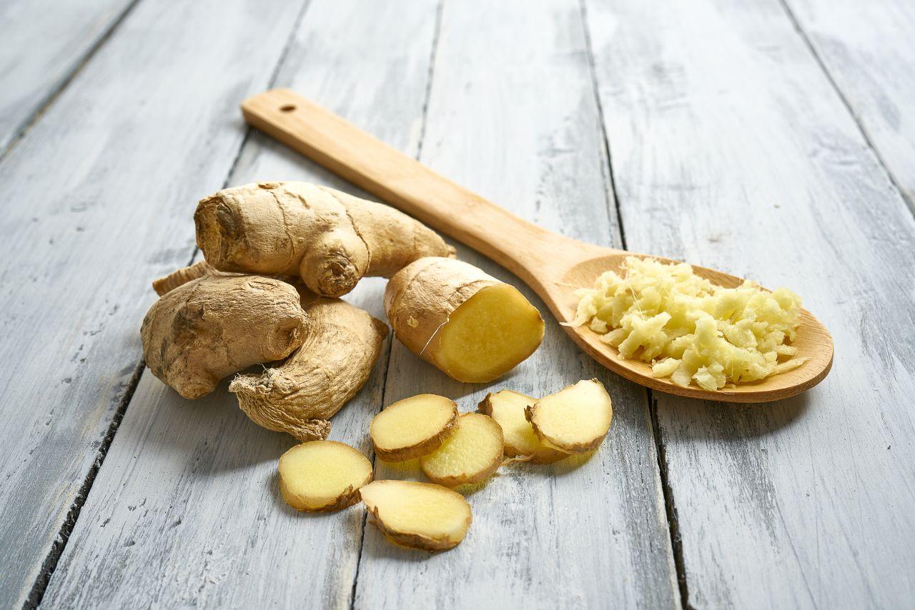 Ingwer kann nicht nur zu Tee passen, sondern auch zu Kartoffelgerichten.