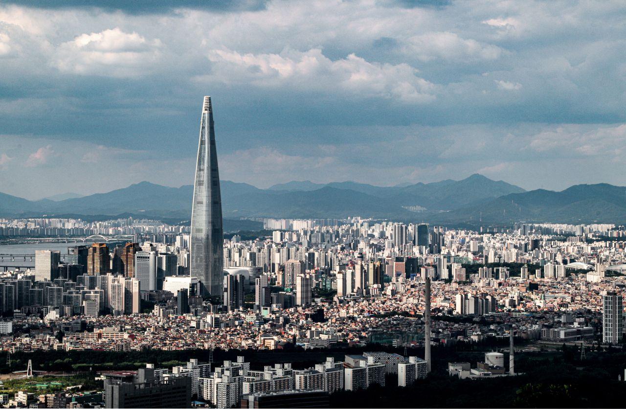 Das Bild zeigt die Südkoreanische Hauptstadt Soul.
