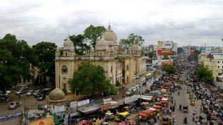 Hyderabad ist eine Stadt in Indien und bekannt für seine Pharmaindustrie.