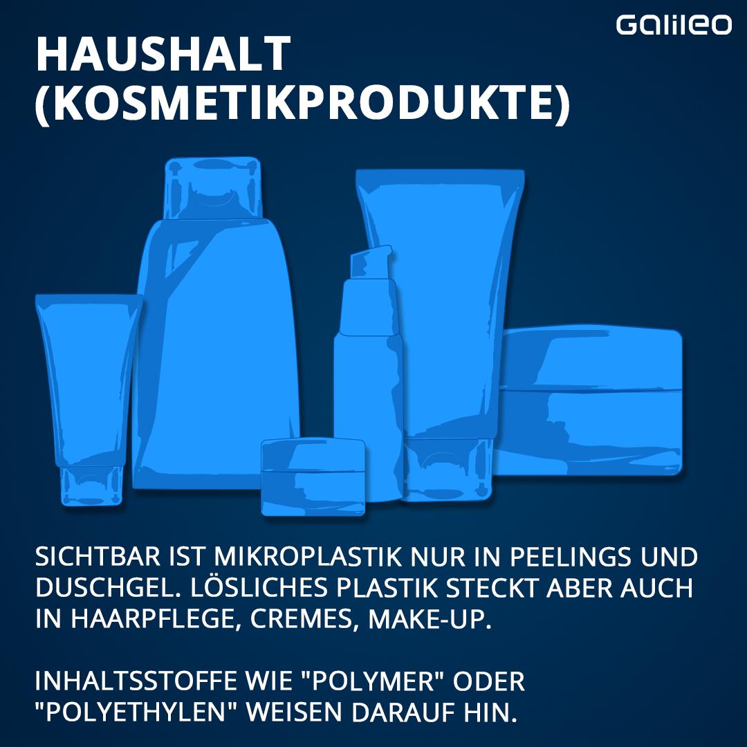 Plastik in Kosmetikprodukten