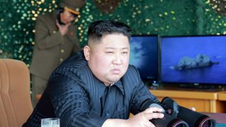 Kim Jong-un Raketentest