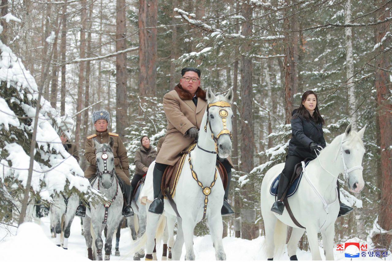 Kim Jong-un Ri Sol-ju