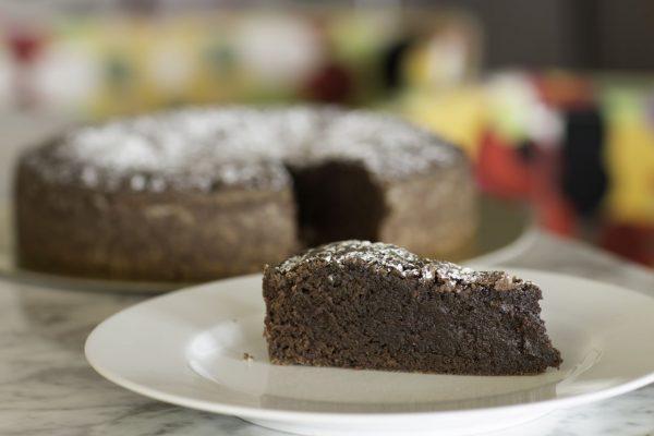 Schokoladen-Kuchen aus Linsen