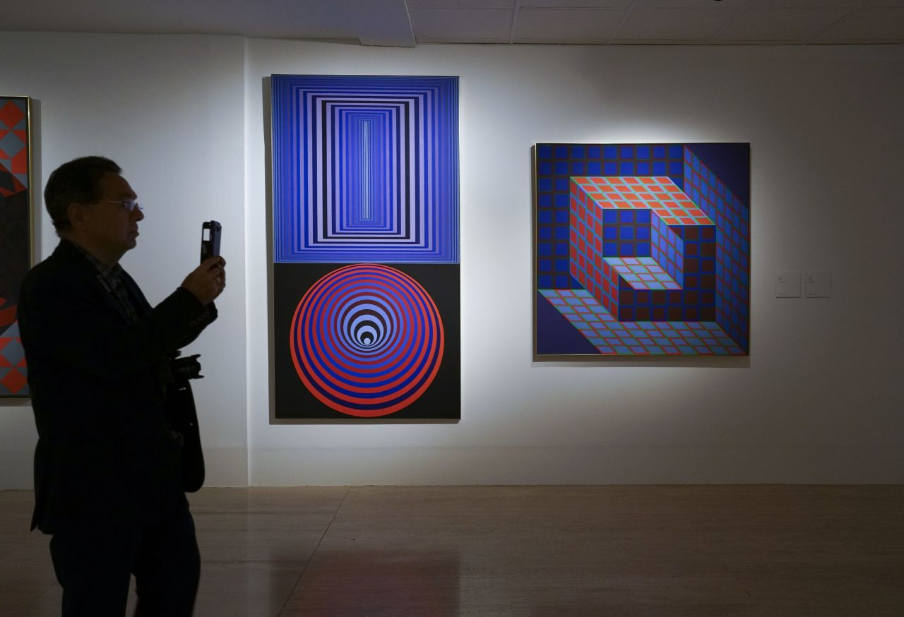 Ausstellung Op-Art