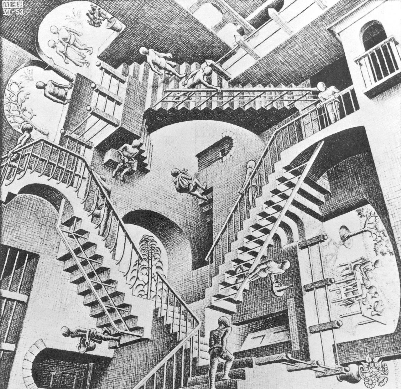 Bild von M.C. Escher