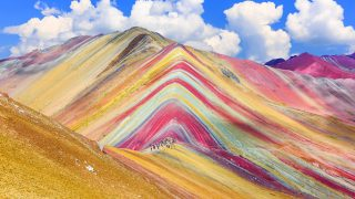Die peruanischen Regenbogenberge