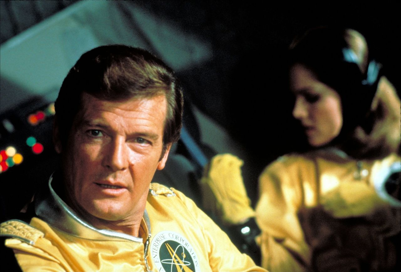 "Roger Moore in ""Moonraker"""