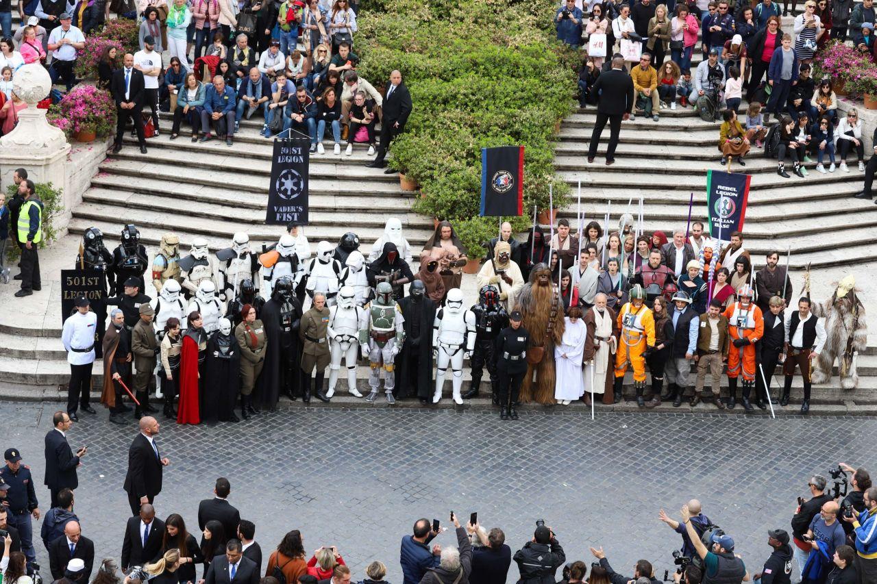 Star Wars Day 2019 in Rom