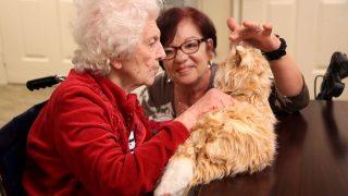 Hunde-Therapie bei Demenzkranken