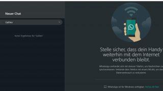 WhatsApp-Web Dark Mode