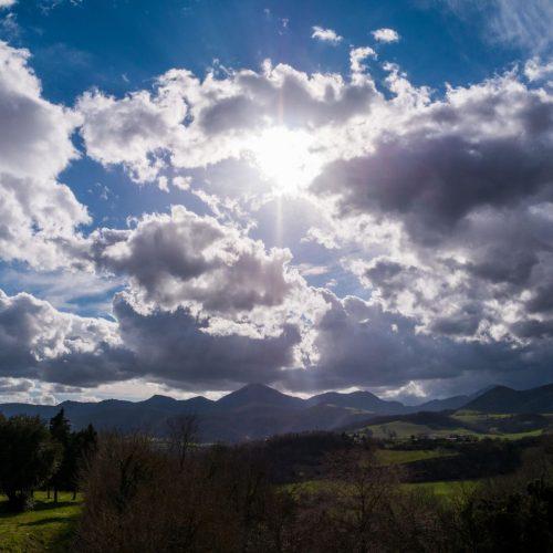 Wolke Sonne