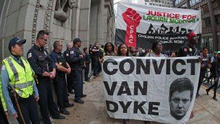 Demonstration gegen Polizeigewalt in Chicago