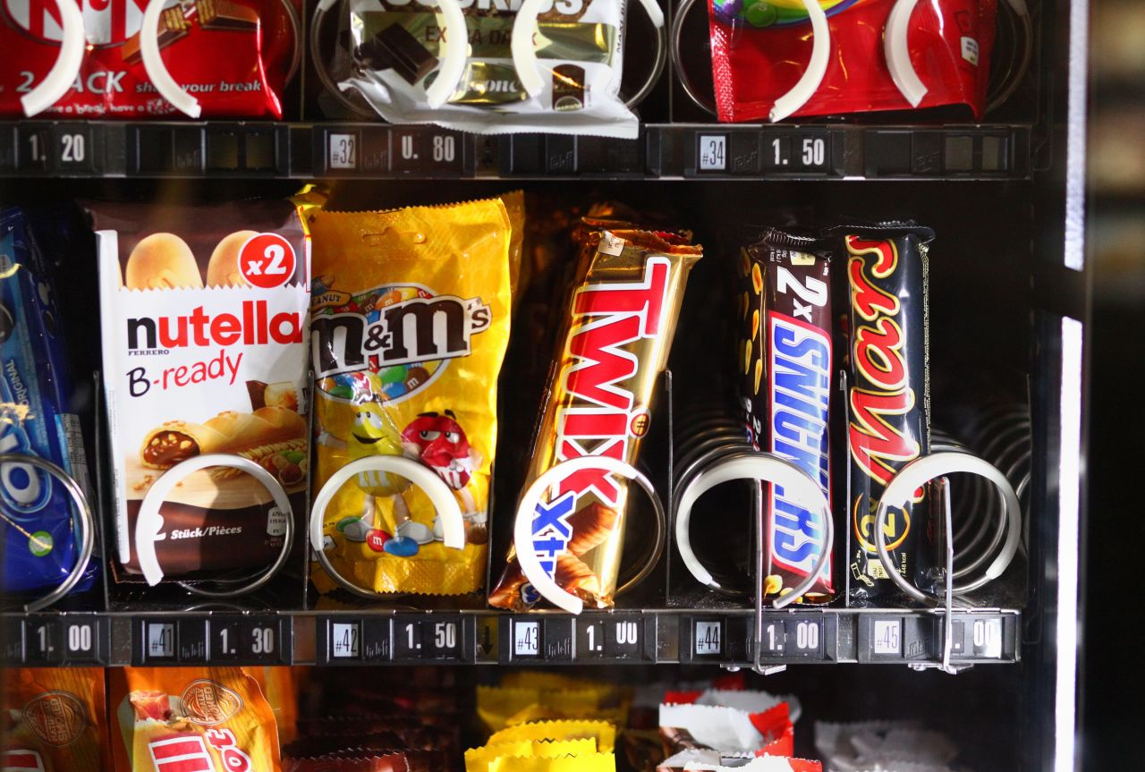 Ein Automat für alle Fälle: Süßigkeiten, Wurst, Angelköder oder Werkzeuge