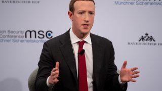Zuckerberg auf der Münchner Sicherheitskonferenz