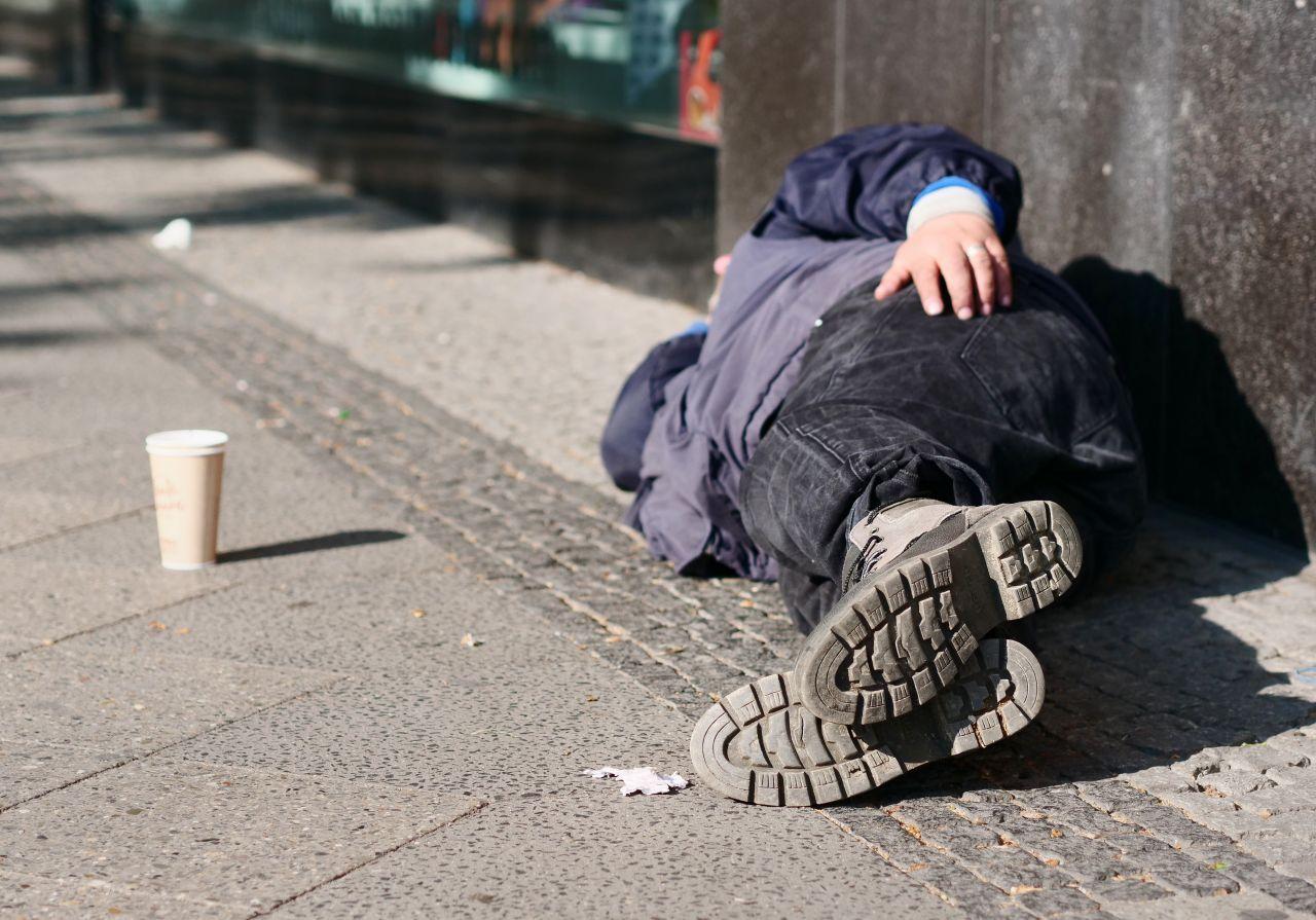 Viele Obdachlose sind in Deutschland nicht krankenversichert
