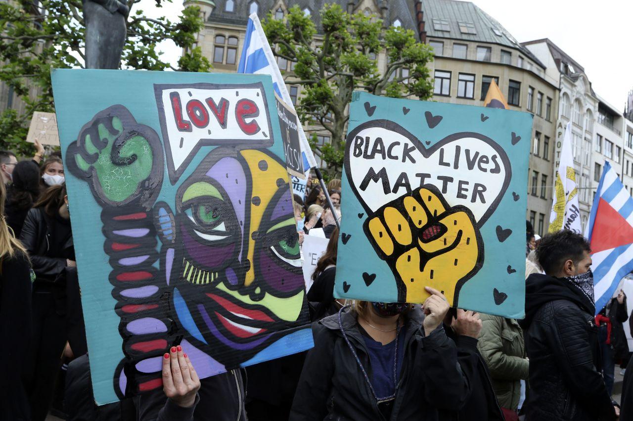 Rassismus-Demo in Hamburg