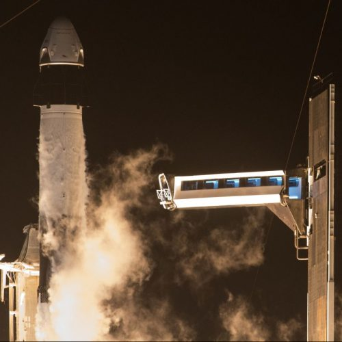 SpaceX Crew Dragon Start