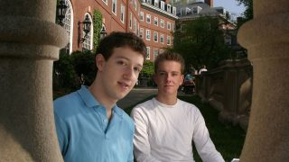 Mark Zuckerberg und Chris Hughes