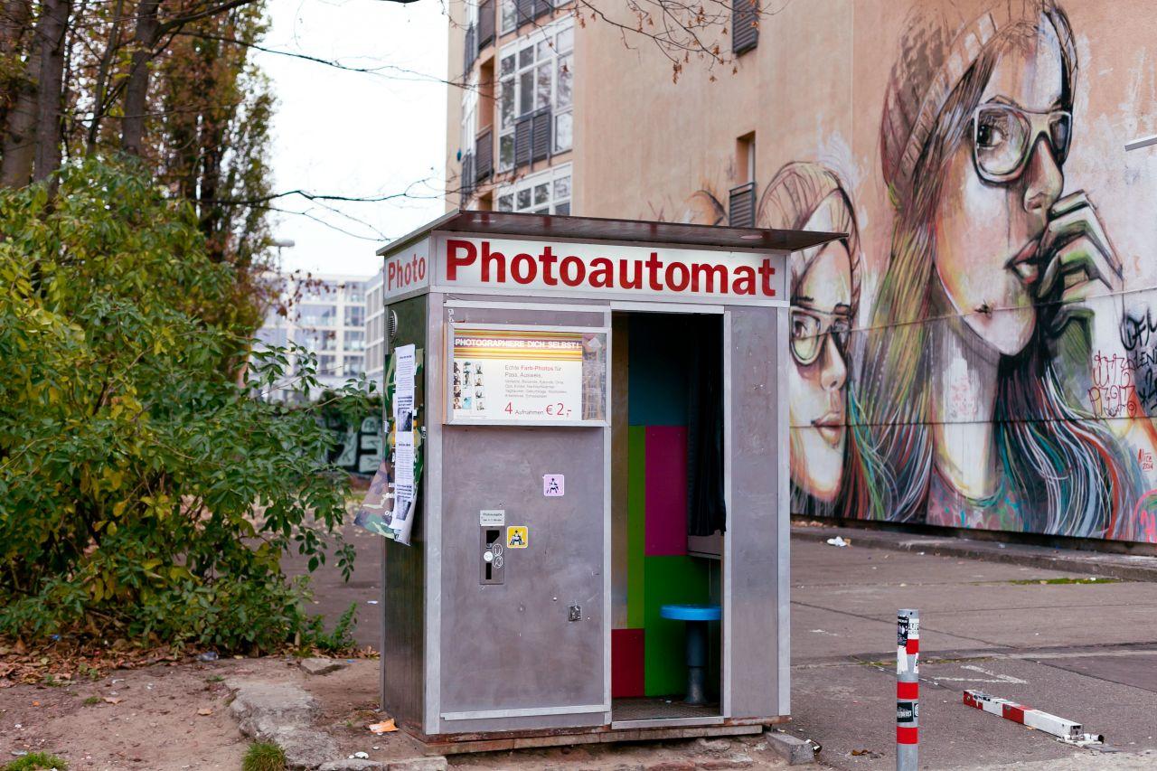 Ein Fotoautomat in Berlin