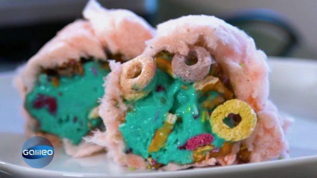 Burrito, Wrap und Bubble Tea als Eis? Die schrägsten Eis-Trends als DIY