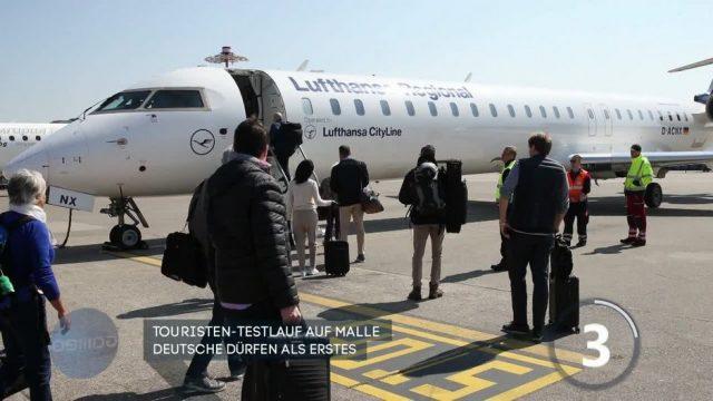 Mallorca startet Touristen-Testlauf mit 6000 deutschen Urlaubern
