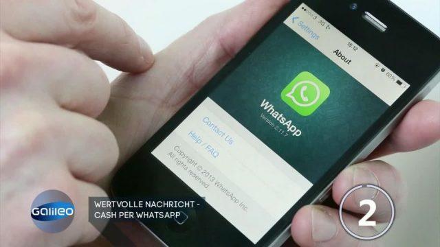 Neuer Service: Bezahlvorgänge nun auch über WhatsApp möglich