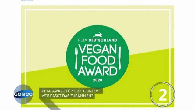 PETA zeichnet Discounter mit Award aus - wie passt das zusammen?