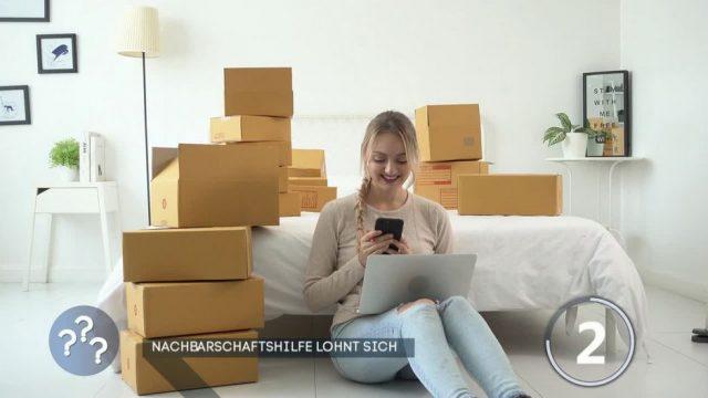 Pakete vom Nachbarn annehmen und dabei Geld verdienen - so gehts!