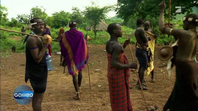 Platz 18: Der Wettkampf der Dickbäuchigen in Äthiopien