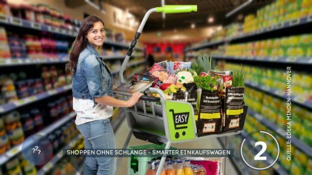 Shoppen ohne Schlangestehen - ist das mit smarten Einkaufswagen möglich?
