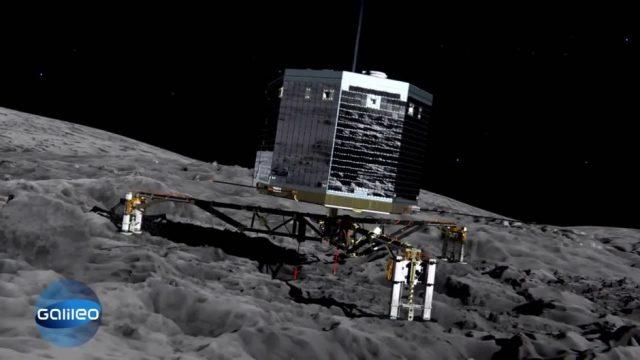 Wissenscountdown: Raumsonde 'Rosetta'