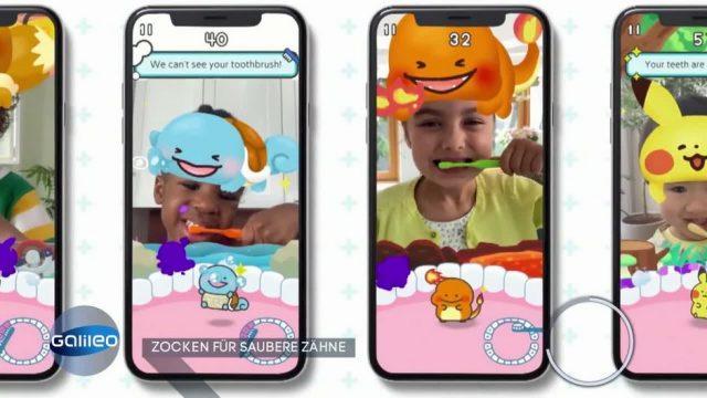 Zocken für saubere Zähne: Diese App soll Kindern das Zähneputzen erleichtern