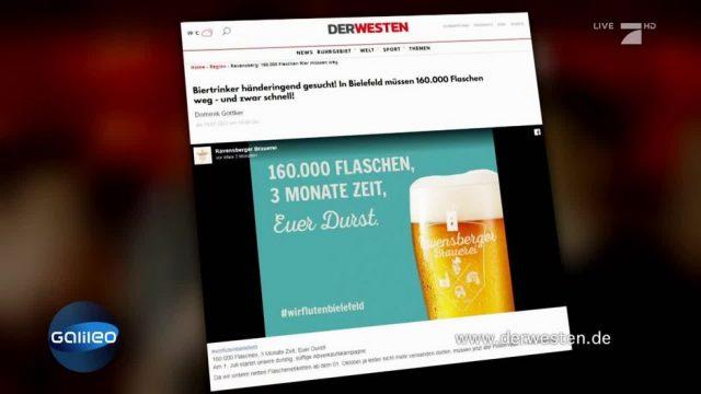 Zu gut um wahr zu sein? Brauerei verschenkt angeblich Bier