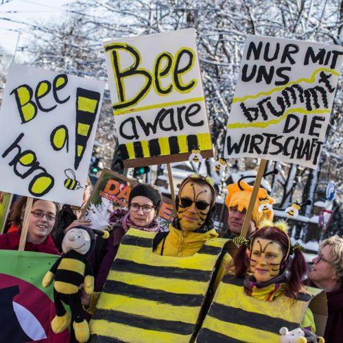 Volksbegehren Rettet die Bienen
