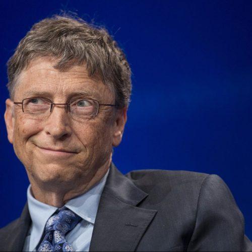 Bill Gates der Microsoft-Gründer