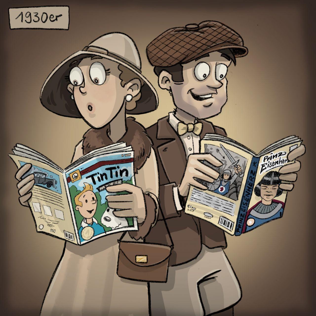 Geschichte der Comics: 1930er Jahre