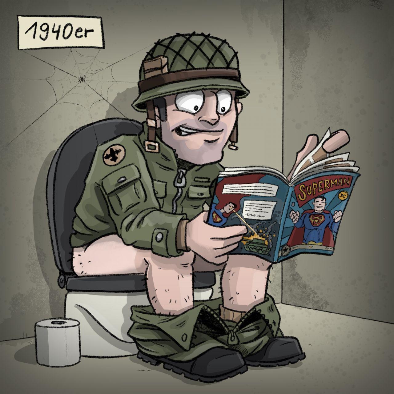 Geschichte der Comics: 1940er Jahre