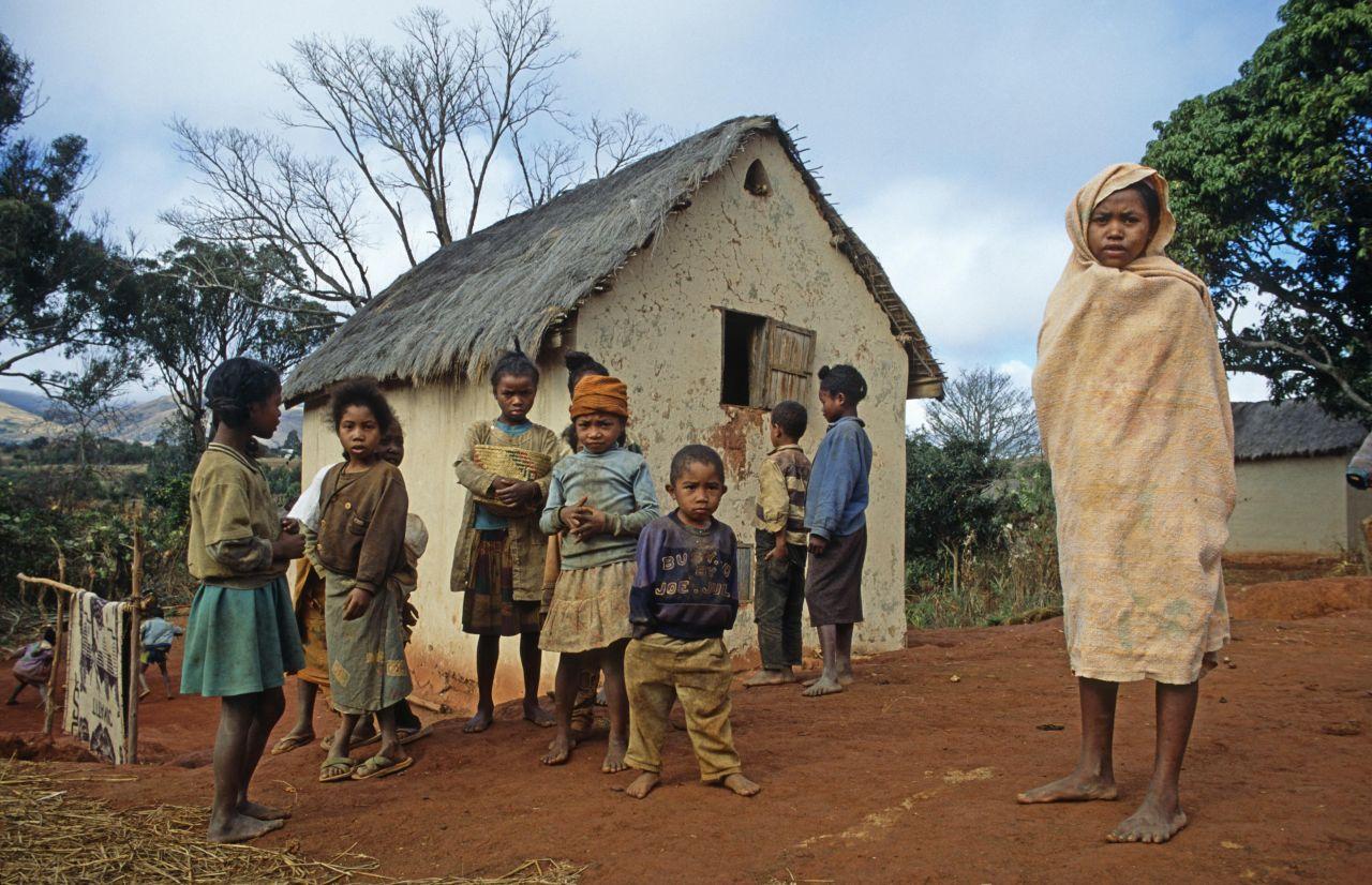 Dorf Madagaskar