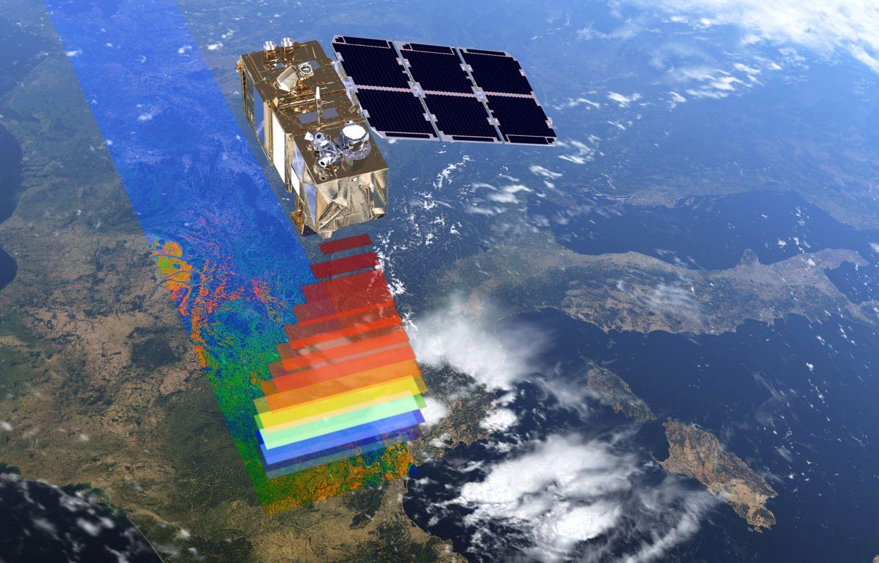 ESA-Erdbeobachtungssatellit Copernicus 2